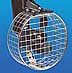 Propeller safety guards in several sizes for protecting swimmers from injury and props from damage.