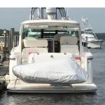 H3O high quality winch on davit System for inflatable boats
