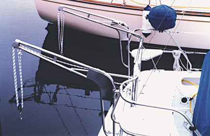 Davits davit systems for inflatable boats for Boat lift motors for sale